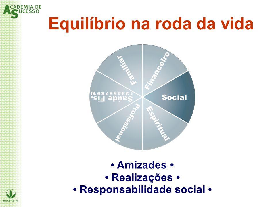 Equilíbrio na roda da vida • Responsabilidade social •