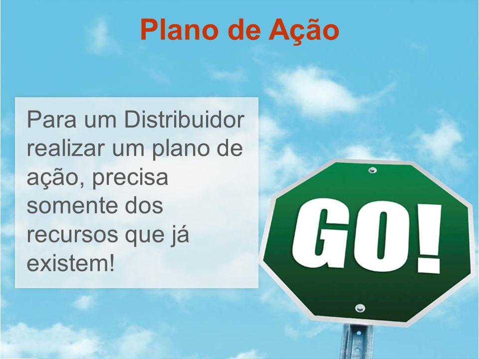 Plano de Ação Para um Distribuidor realizar um plano de ação, precisa somente dos recursos que já existem!