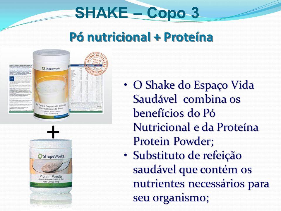 Pó nutricional + Proteína