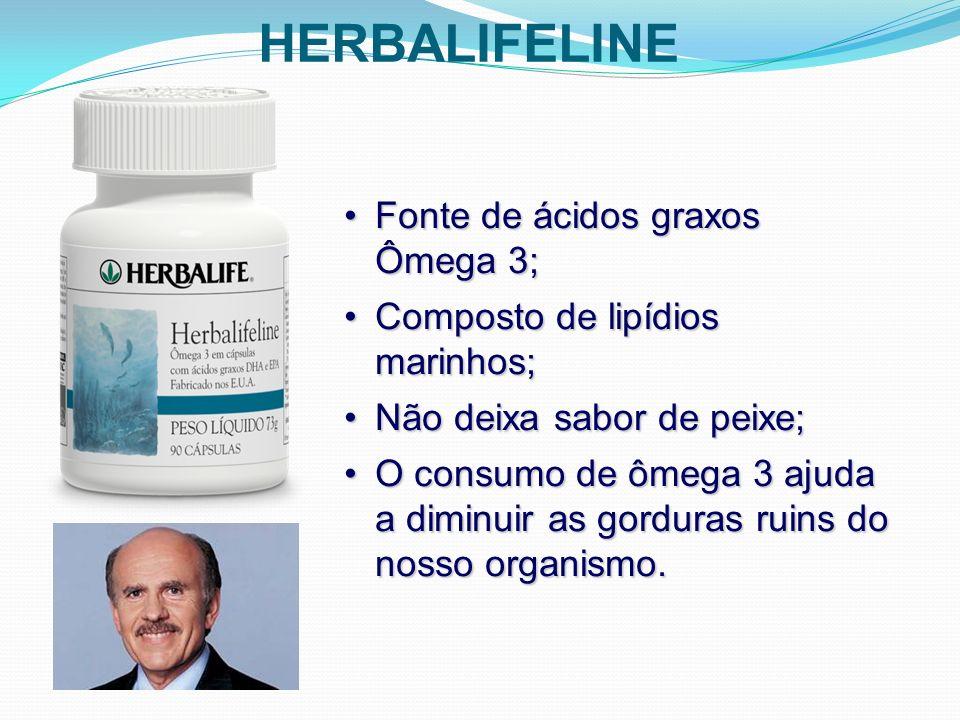 HERBALIFELINE Fonte de ácidos graxos Ômega 3;