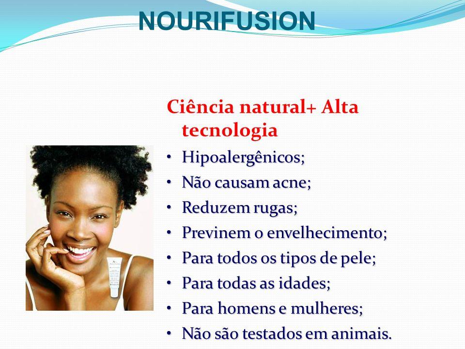 NOURIFUSION Ciência natural+ Alta tecnologia Hipoalergênicos;