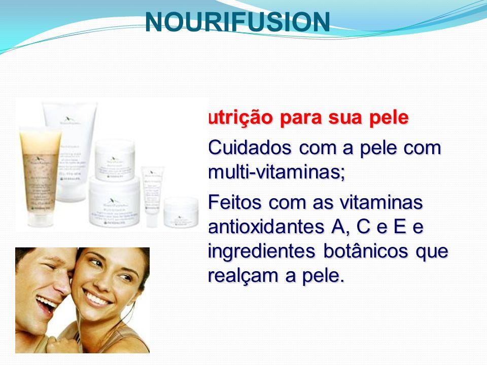 NOURIFUSION Nutrição para sua pele