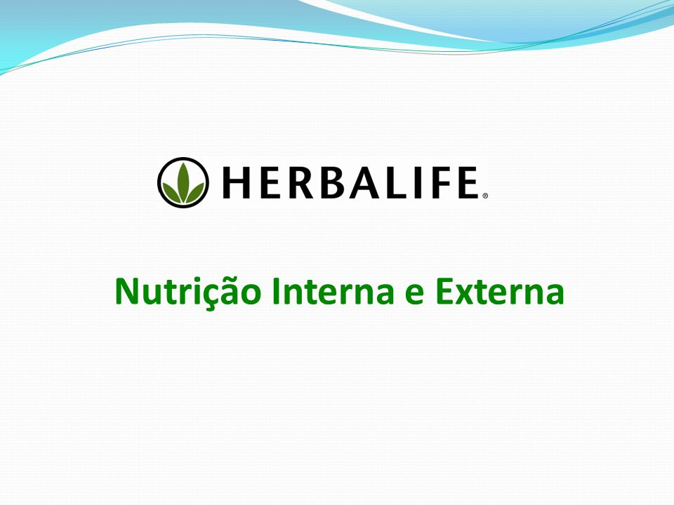 Nutrição Interna e Externa