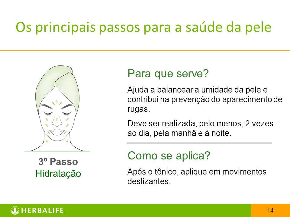 Os principais passos para a saúde da pele