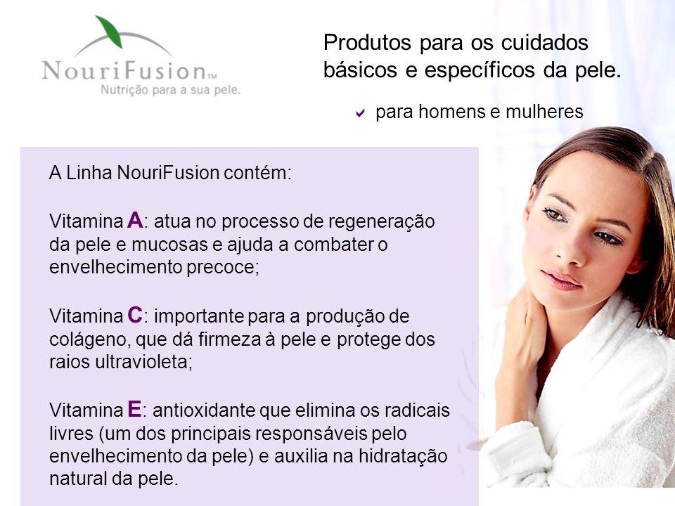 Produtos para os cuidados básicos e específicos da pele.
