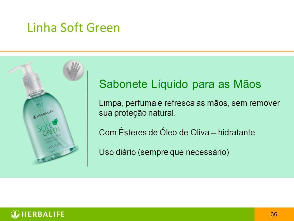 Linha Soft Green Sabonete Líquido para as Mãos
