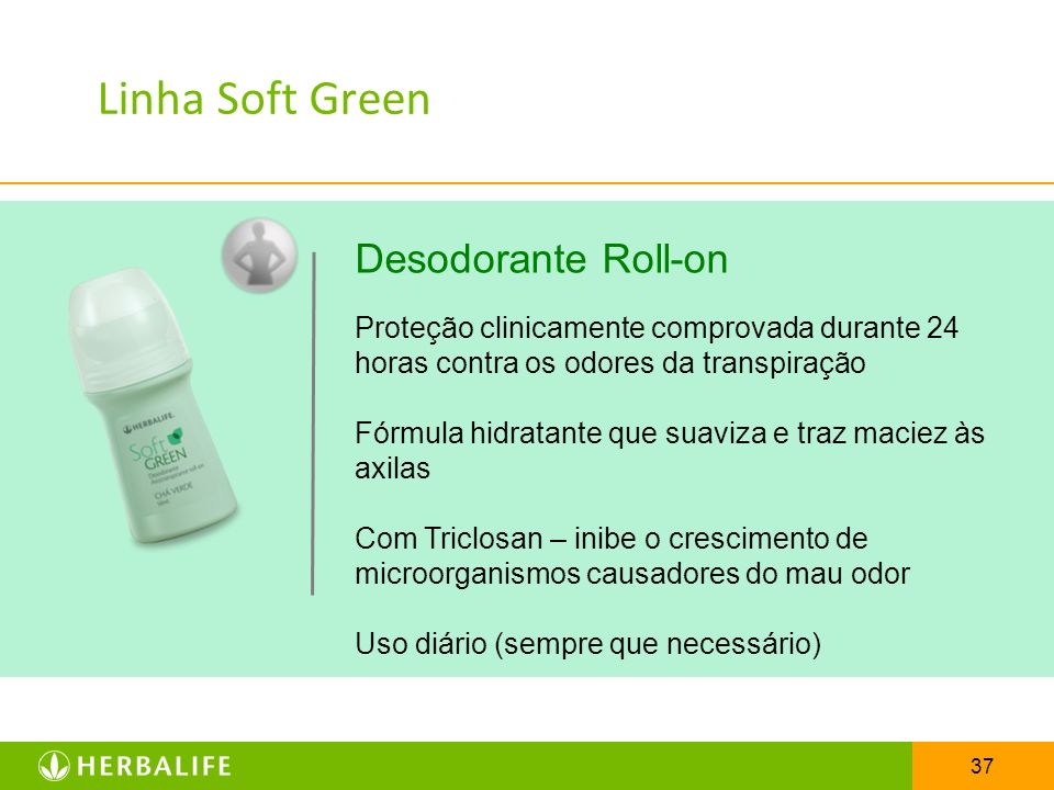 Linha Soft Green Desodorante Roll-on
