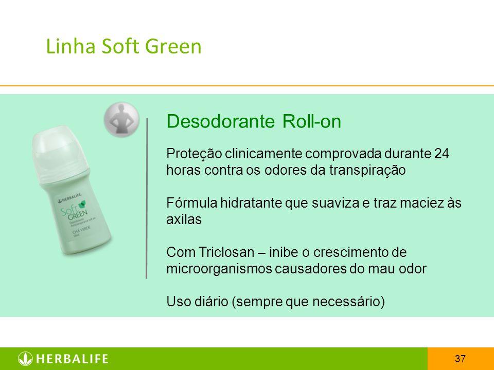 Linha Soft Green Desodorante Roll-on