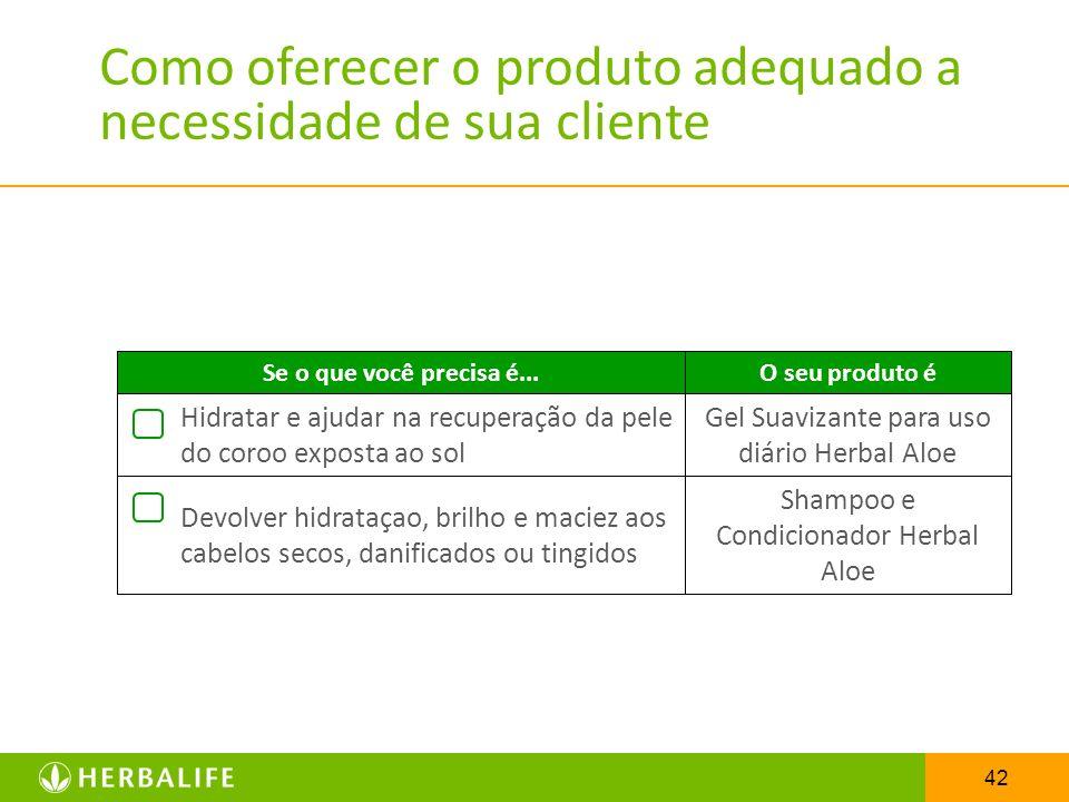 Como oferecer o produto adequado a necessidade de sua cliente
