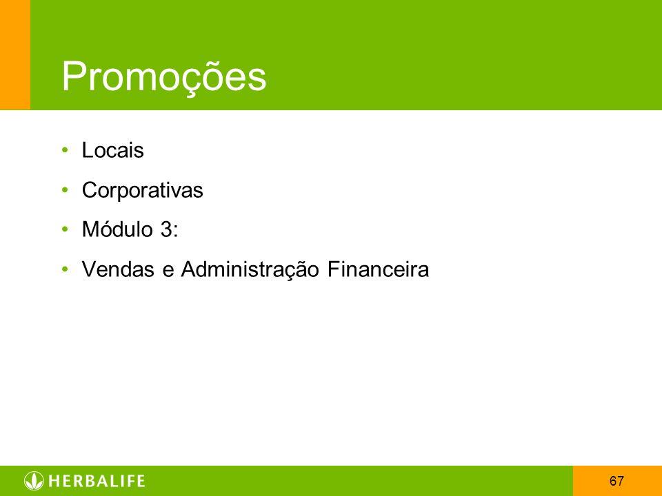 Promoções Locais Corporativas Módulo 3: