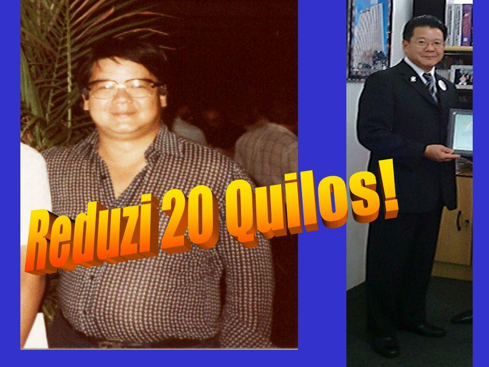 Reduzi 20 Quilos!