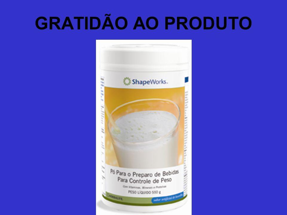 GRATIDÃO AO PRODUTO