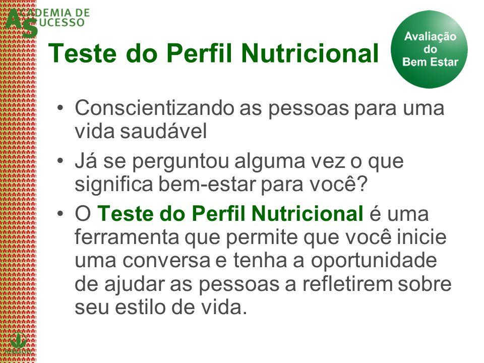 Teste do Perfil Nutricional