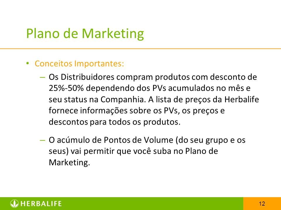 Plano de Marketing Conceitos Importantes: