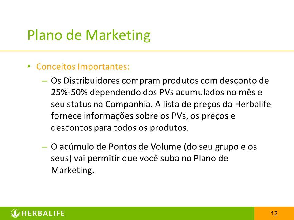 Plano de Marketing Conceitos Importantes:
