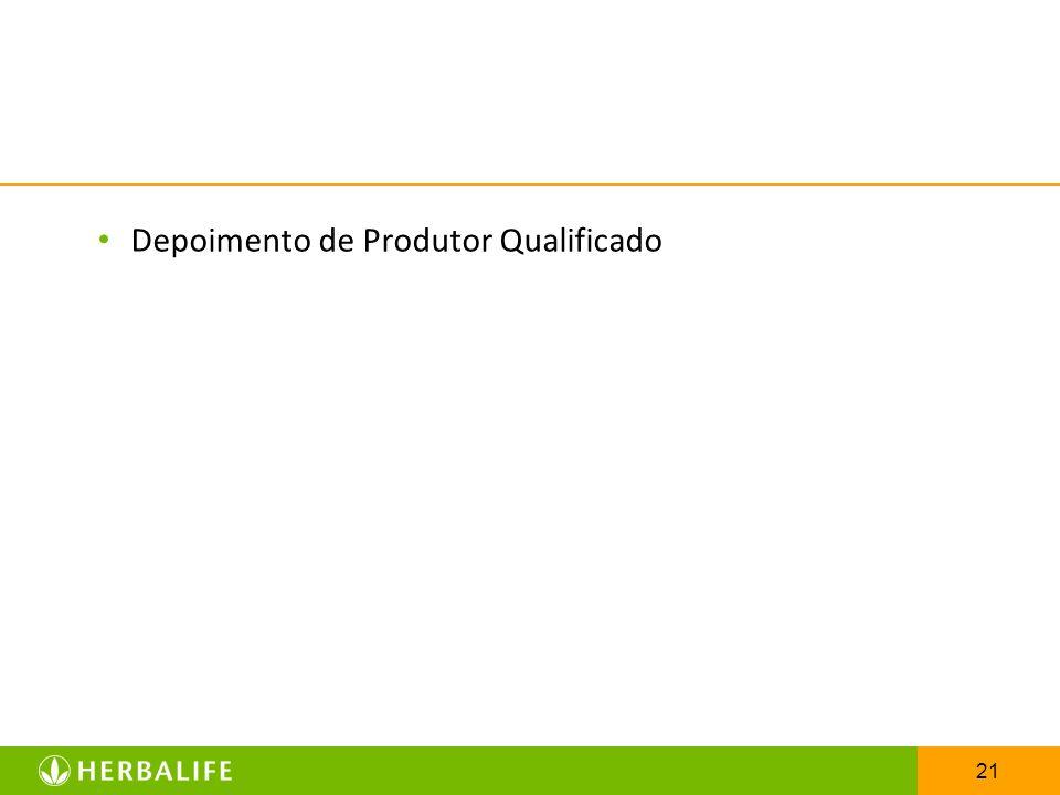 Depoimento de Produtor Qualificado