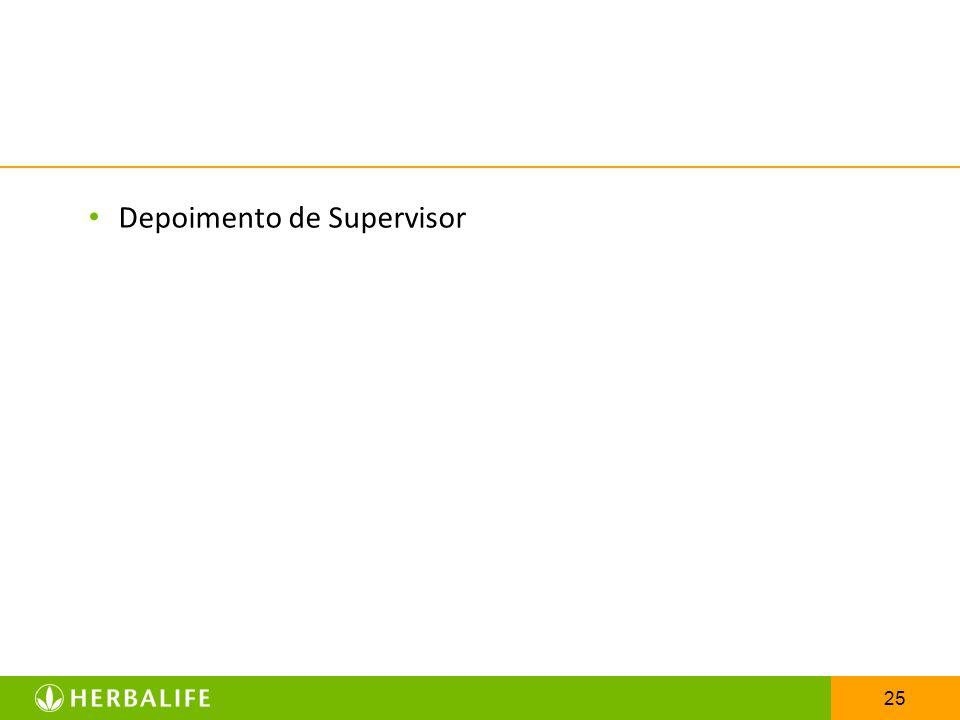 Depoimento de Supervisor