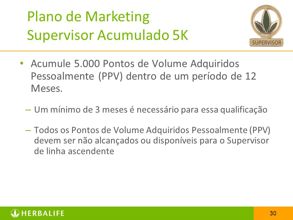 Plano de Marketing Supervisor Acumulado 5K