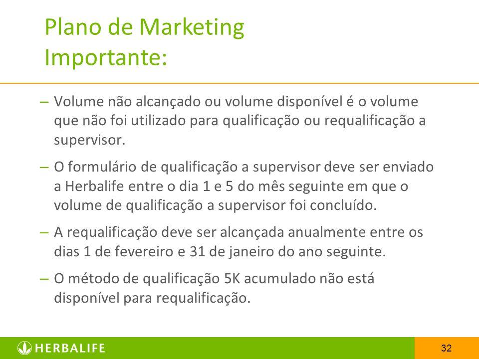 Plano de Marketing Importante: