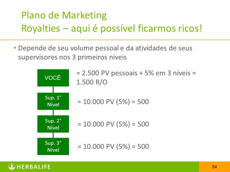 Plano de Marketing Royalties – aqui é possível ficarmos ricos!