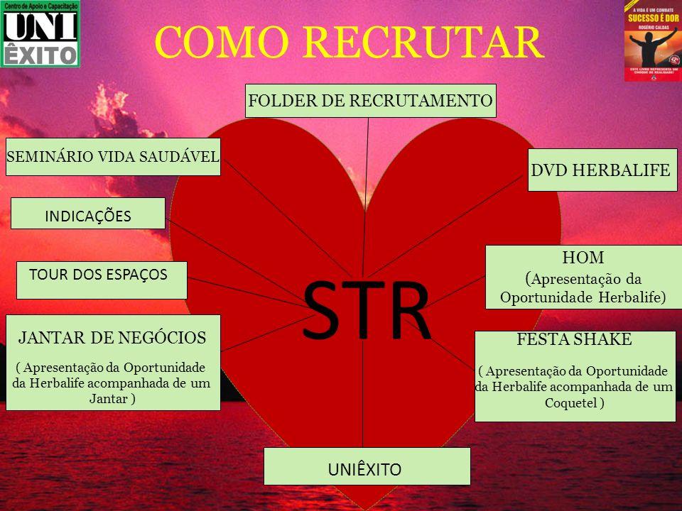 STR COMO RECRUTAR UNIÊXITO FOLDER DE RECRUTAMENTO DVD HERBALIFE