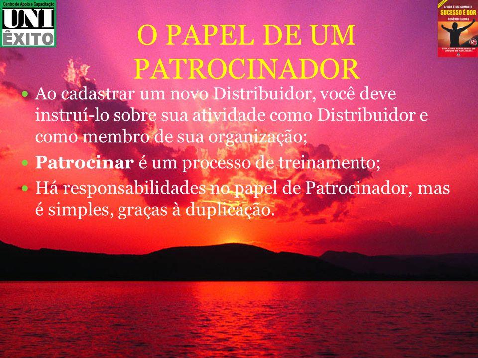 O PAPEL DE UM PATROCINADOR