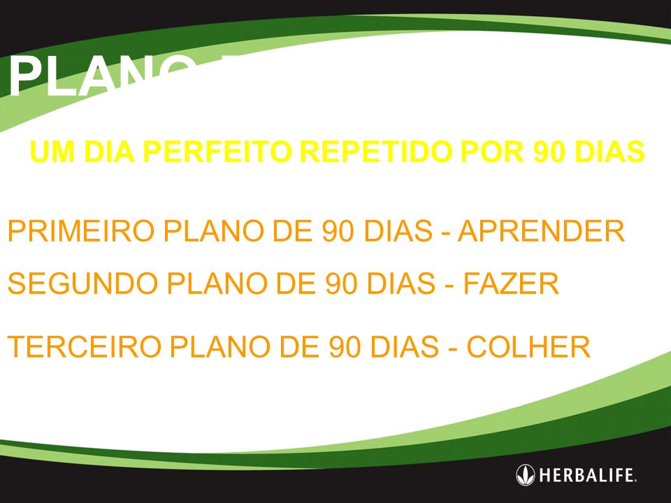 PLANO DE 90 DIAS UM DIA PERFEITO REPETIDO POR 90 DIAS