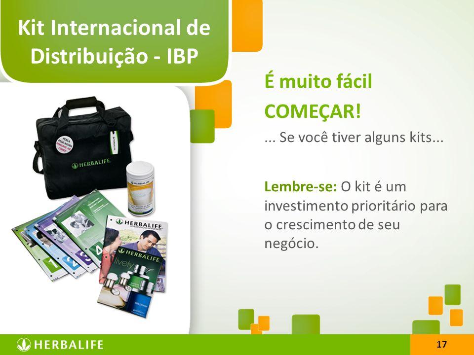 Kit Internacional de Distribuição - IBP