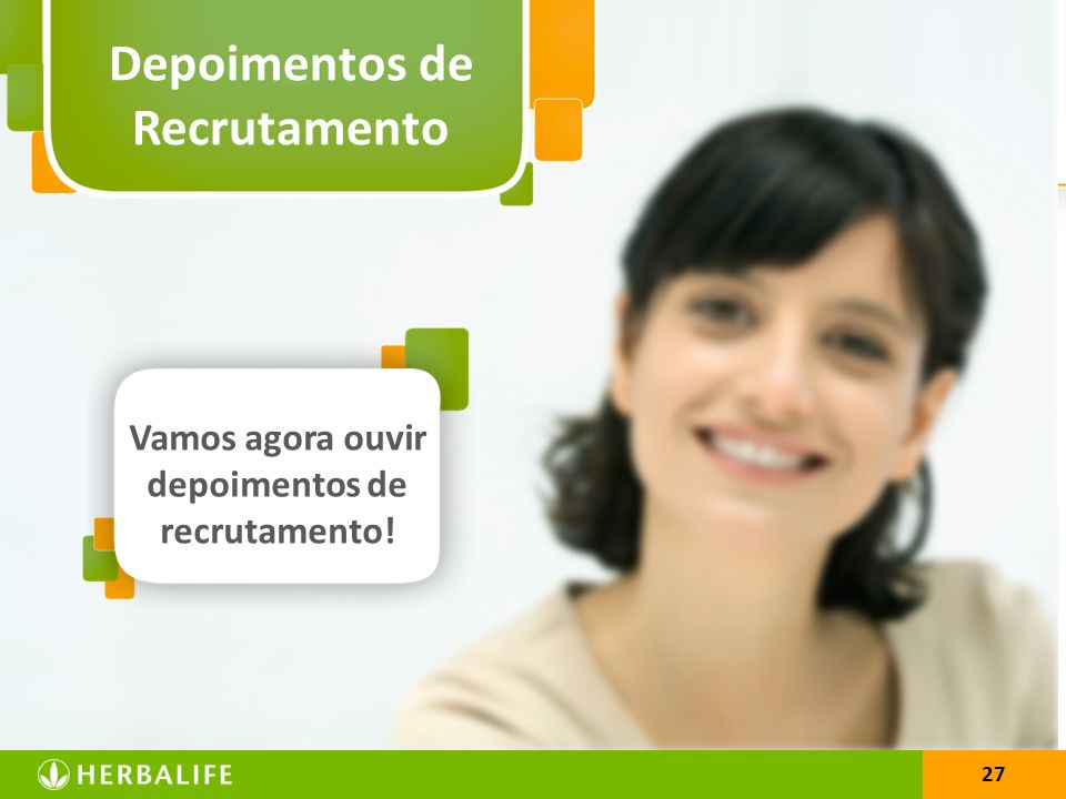 Depoimentos de Recrutamento