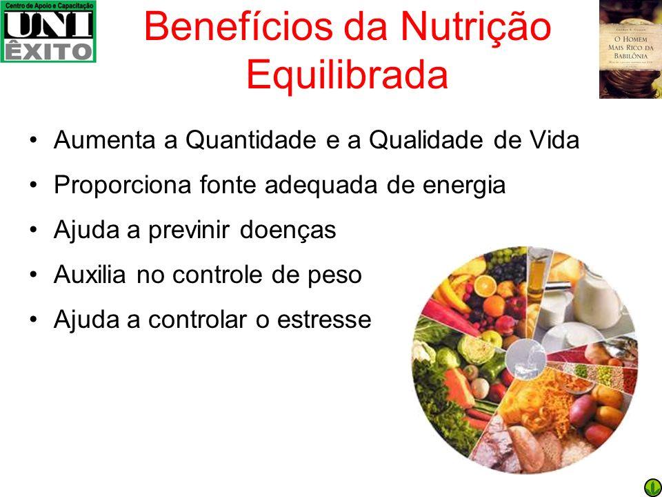 Benefícios da Nutrição Equilibrada