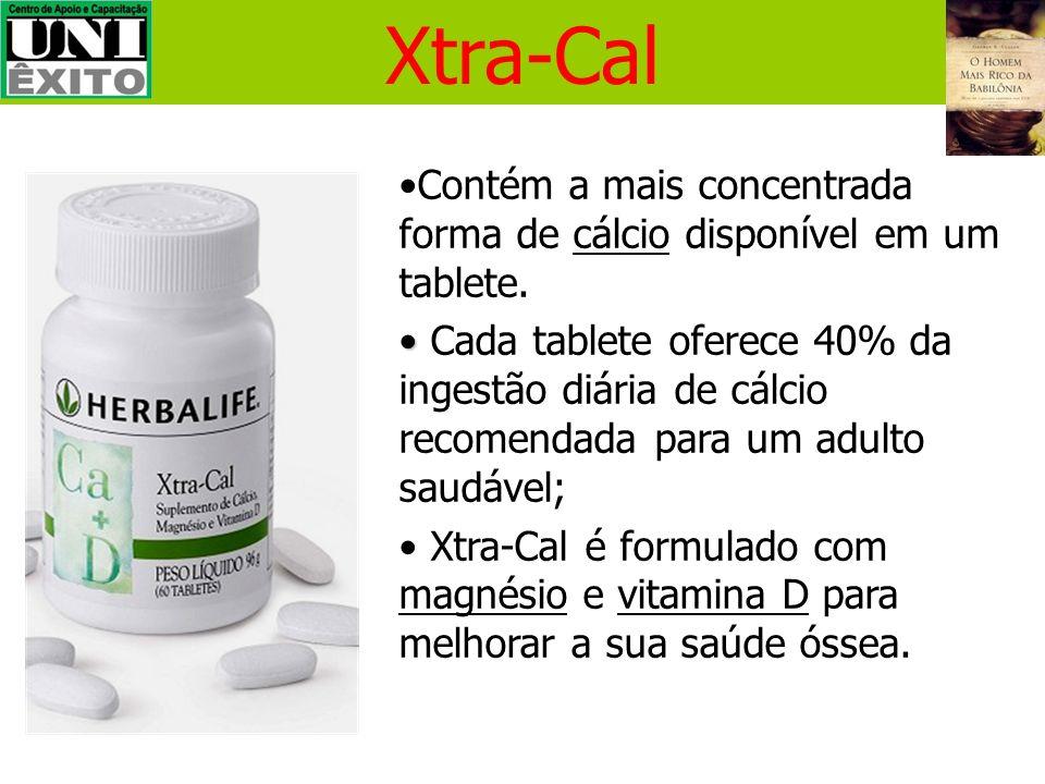 Xtra-CalContém a mais concentrada forma de cálcio disponível em um tablete.