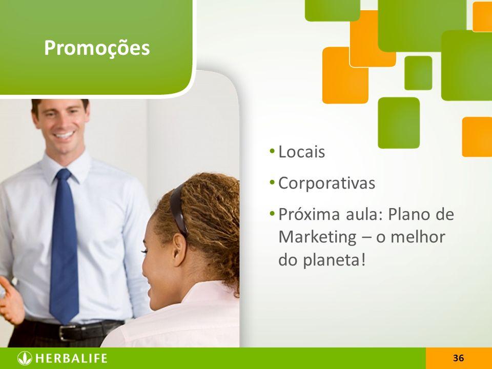 Promoções Locais Corporativas