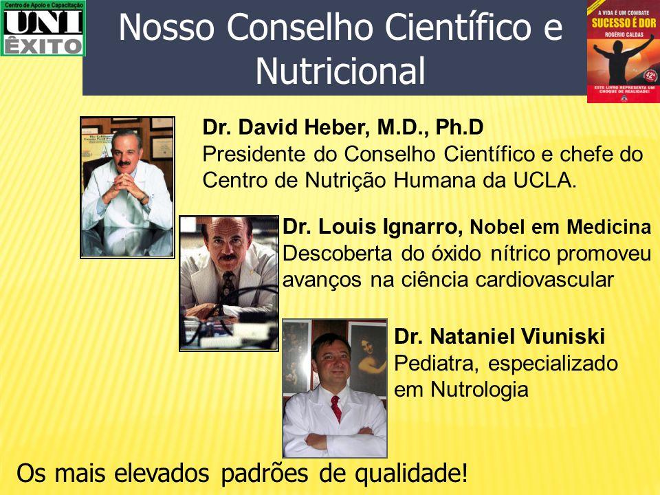 Nosso Conselho Científico e Nutricional