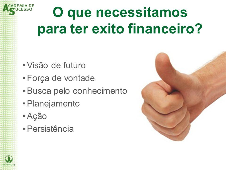 para ter exito financeiro