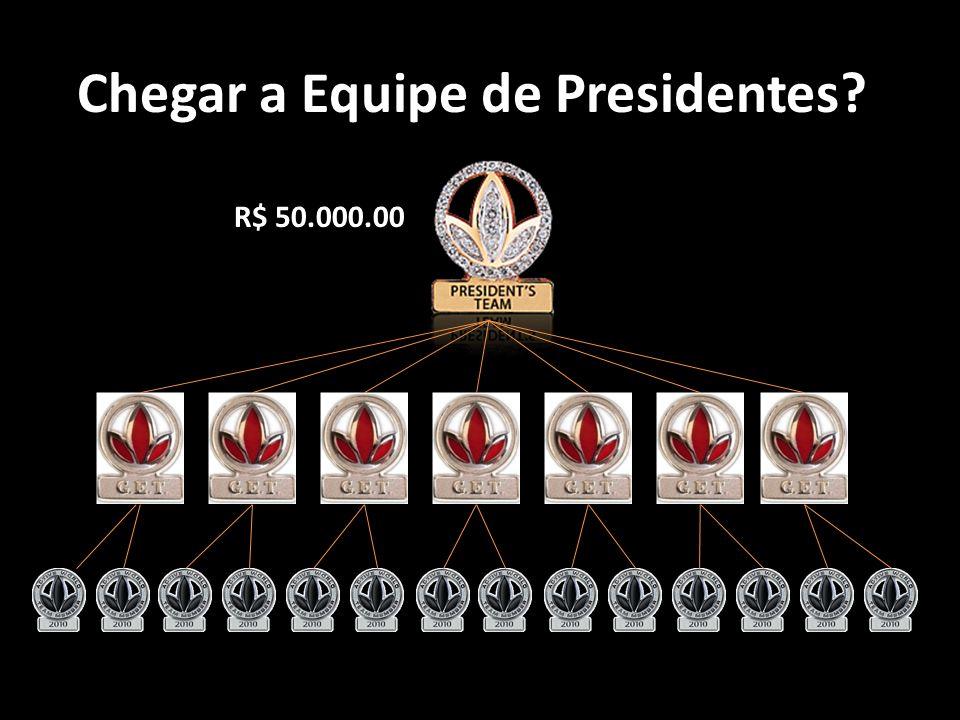 Chegar a Equipe de Presidentes