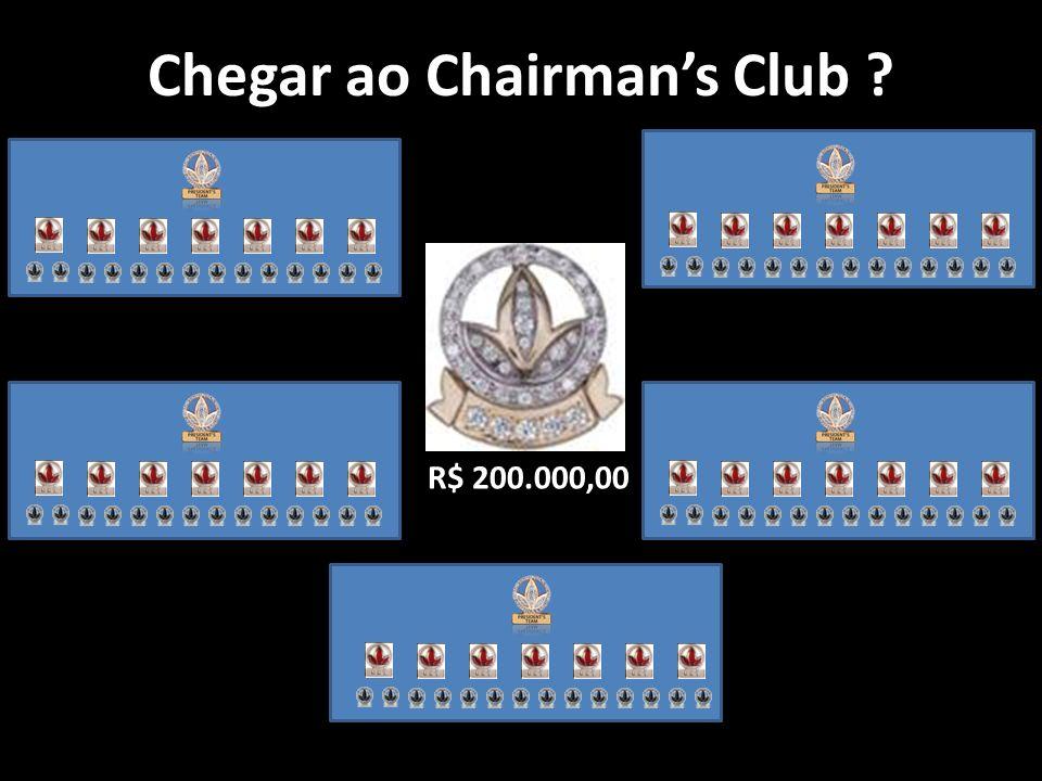 Chegar ao Chairman's Club