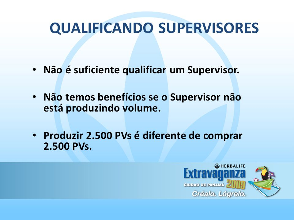 QUALIFICANDO SUPERVISORES