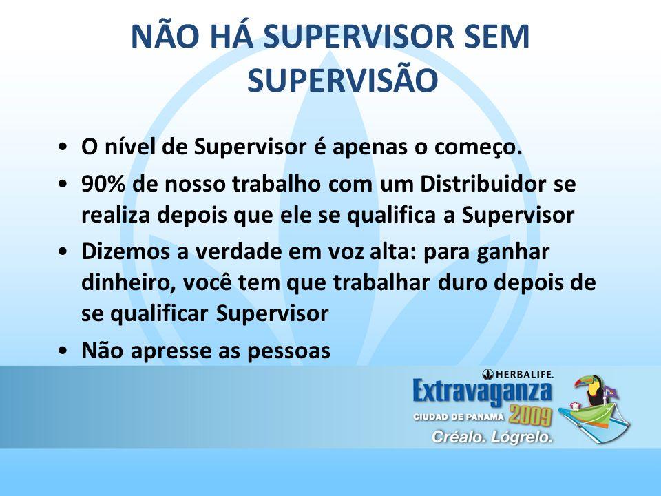 NÃO HÁ SUPERVISOR SEM SUPERVISÃO