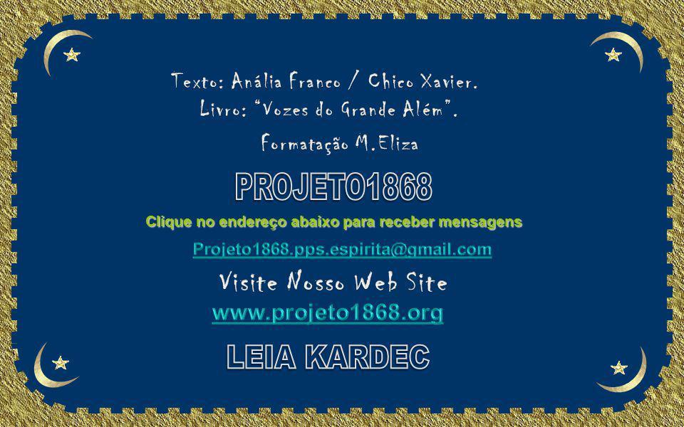 PROJETO1868 LEIA KARDEC Visite Nosso Web Site