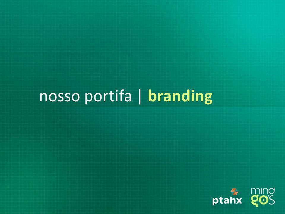 nosso portifa | branding