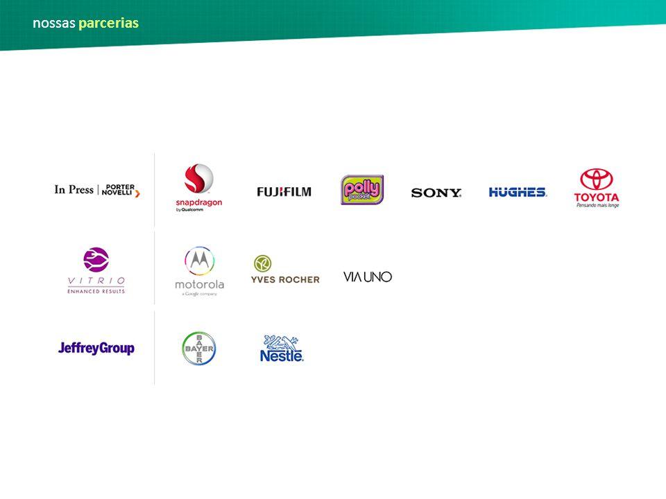 nossas parcerias