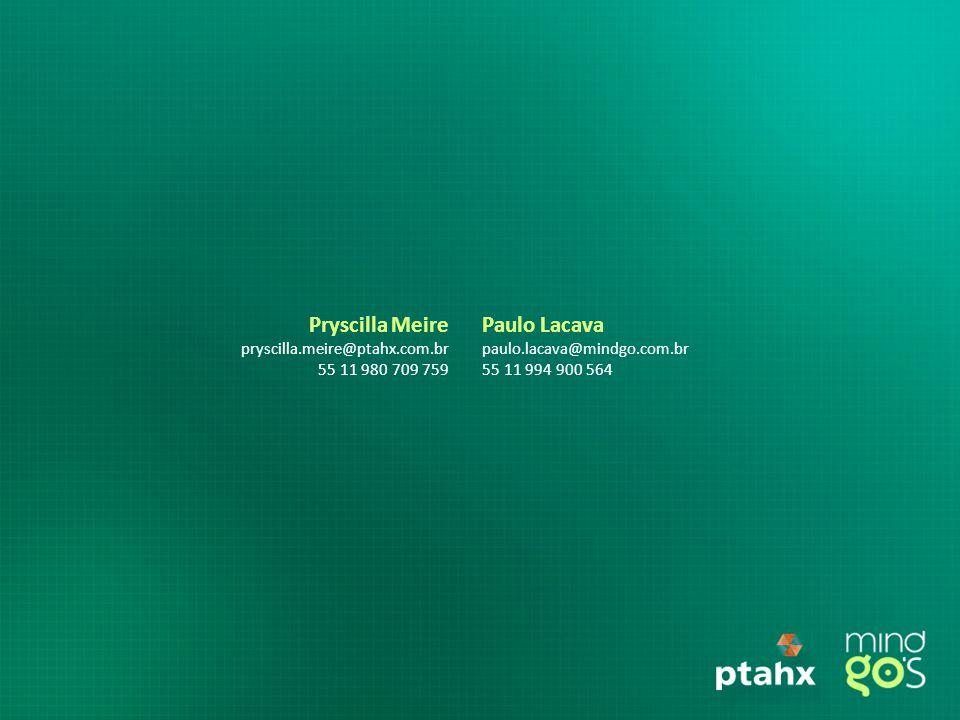 Pryscilla Meire Paulo Lacava pryscilla.meire@ptahx.com.br