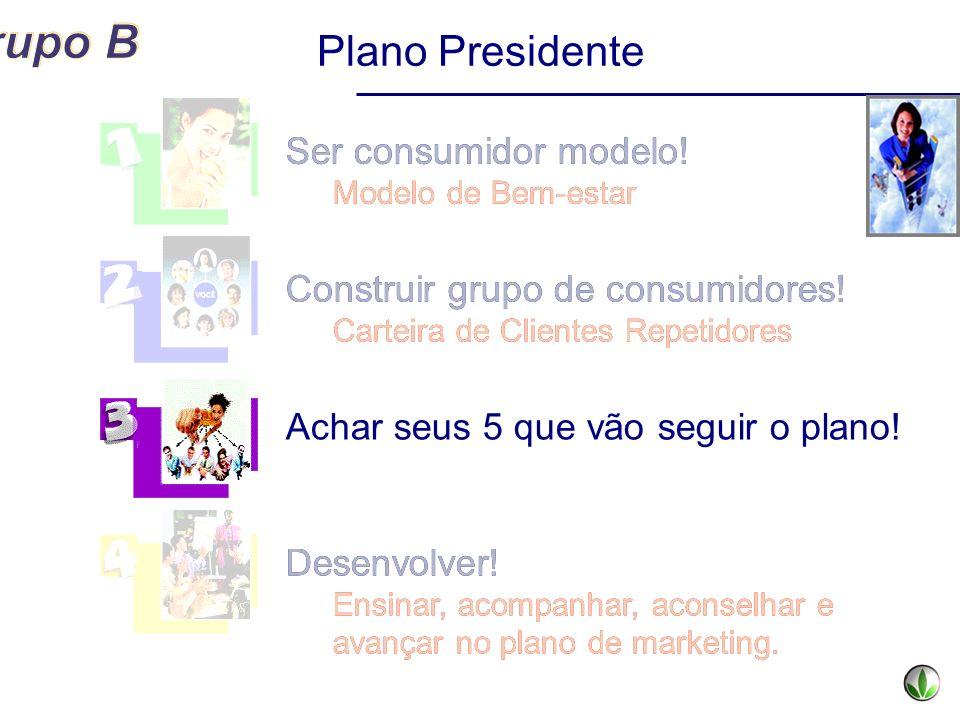 Plano Presidente Ser consumidor modelo! Ser consumidor modelo!
