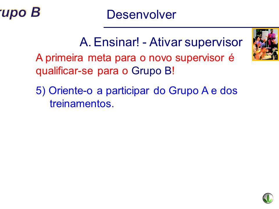 Ensinar! - Ativar supervisor