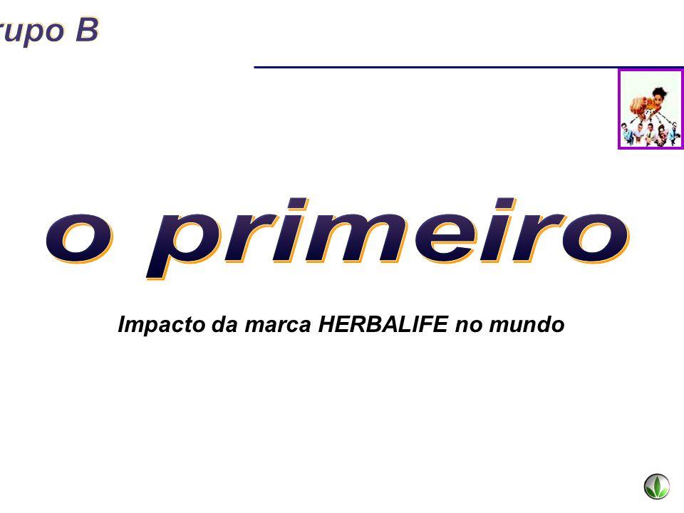 o primeiro Impacto da marca HERBALIFE no mundo