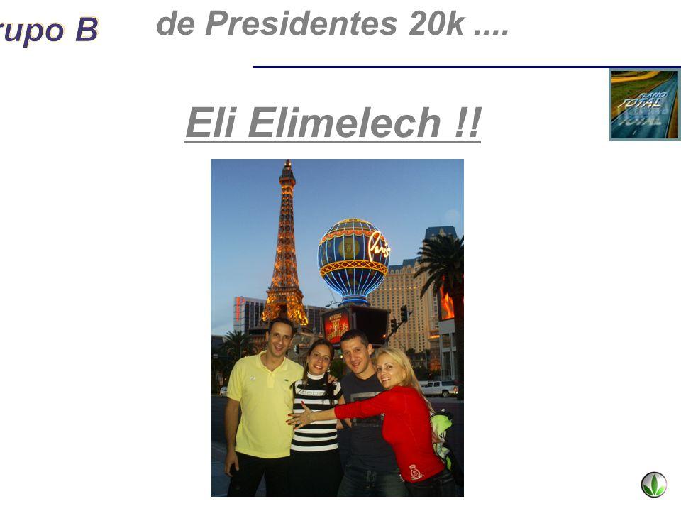 de Presidentes 20k .... Eli Elimelech !!