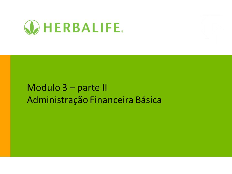 Modulo 3 – parte II Administração Financeira Básica