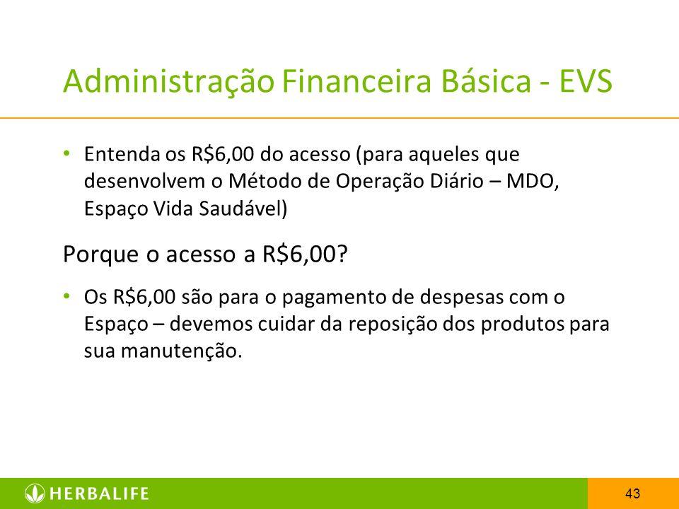 Administração Financeira Básica - EVS
