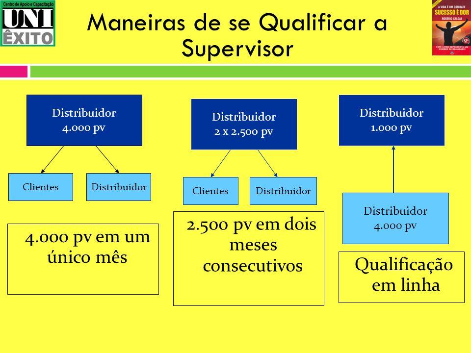 Maneiras de se Qualificar a Supervisor