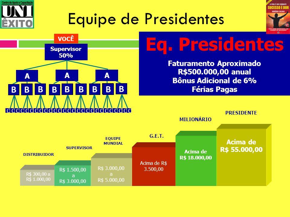 Faturamento Aproximado R$500.000,00 anual
